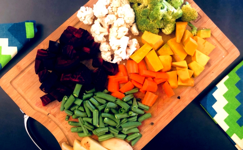 How to eat a vegetable rainbow without eating salads everyday?